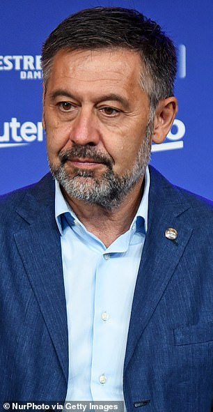 Josep Maria Bartomeu penned a letter in which he claimed that Barca's financial woes was Laporta's fault