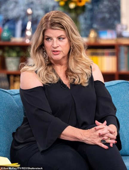 'I'm tired of the degrading of women': Kirstie Alley slammed 'insane nullifying' of women's abilities in a row over the gender neutral term 'chestfeeding'