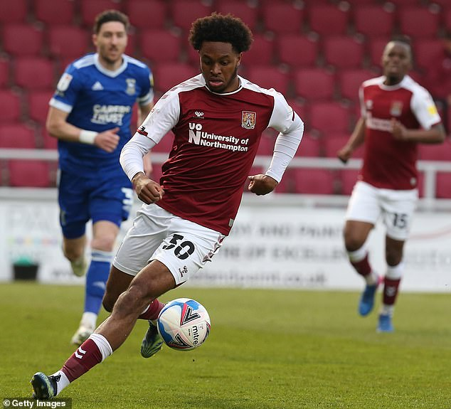 Caleb Chukwuemeka sparked interest from several clubs including Rangers and Tottenham