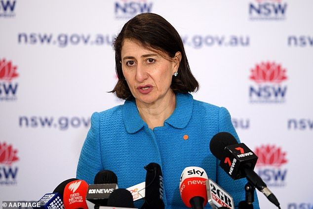 The total number of vaccines administered in NSW is now 5,237,678 with Gladys Berejiklian saying the state was 'tracking well' to hit six million by the end of the month