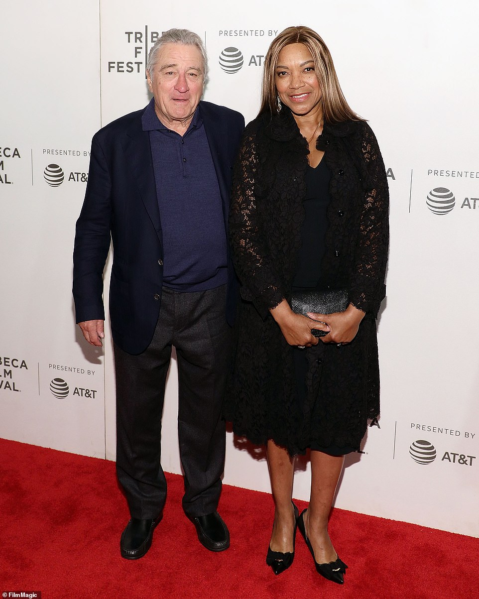 Turbulent love life: Robert, 78, is in a bitter divorce battle with his estranged wife Grace Hightower, 66, (pictured in 2018)