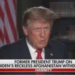 Trump blasts Biden's handling of Afghan withdrawal as 'greatest embarrassment' in history 💥👩💥