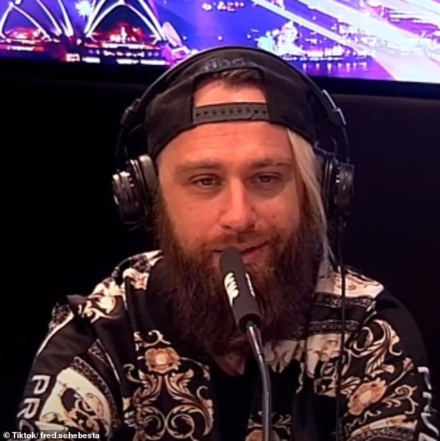 An entrepreneur worth more than $200million is offering to give away $100million worth of Bitcoin to Australians who get even one dose of a Covid vaccine. Finder co-founder Fred Schebesta (pictured) made the announcement to Kyle Sandilands, who made a 'Get Vaxxed Baby' rap video encouraging younger people to get the jab