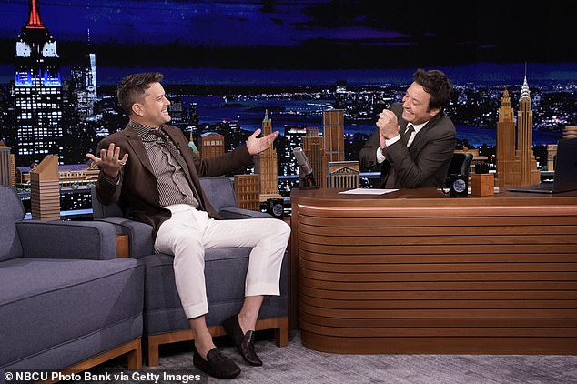 Backstory: The Fringe star is appearing on The Tonight Show Starring Jimmy Fallon and said question two popped up amid the holiday, two months after Jodie first crossed paths in late 2018.