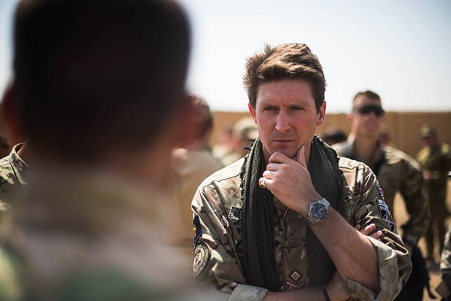 Charlie Herbert, a former major general who worked alongside Ahmadzai in Kandahar, said it was 'rubbish' that he posed a threat to the UK
