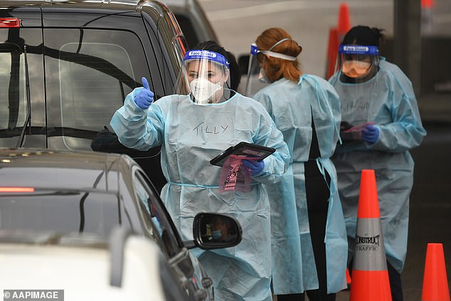 Victoria is set to record 40 Covid-19 cases on Thursday, recording the states highest tally during their second wave, as lockdown measures struggle to contain the virus