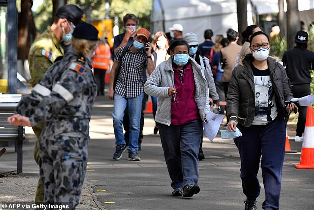 Australia is sending soldiers to guard its state borders in a bid to stop Covid-19 outbreaks from Sydney spilling over, as the Delta variant shows no sign of coming under control