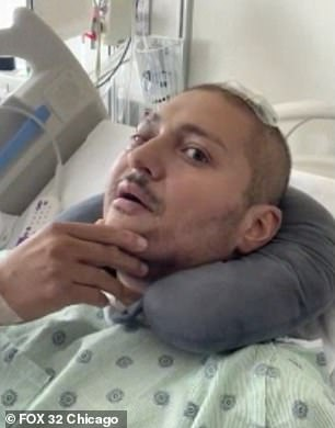 Police officer Carlos Yanez, 40, has released a moving video thanking supporters and donors