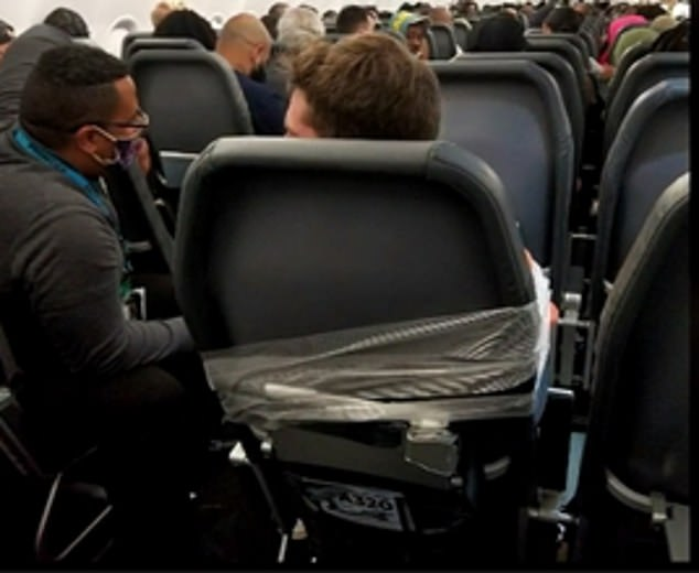 Unruly passengers aboard flights have made big headlines, including that of Maxwell Berry, pictured taped to his seat after allegedly groping and punching flight attendants in July