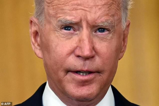 US President Joe Biden credited his economic policies for driving a drop in new unemployment benefit claims