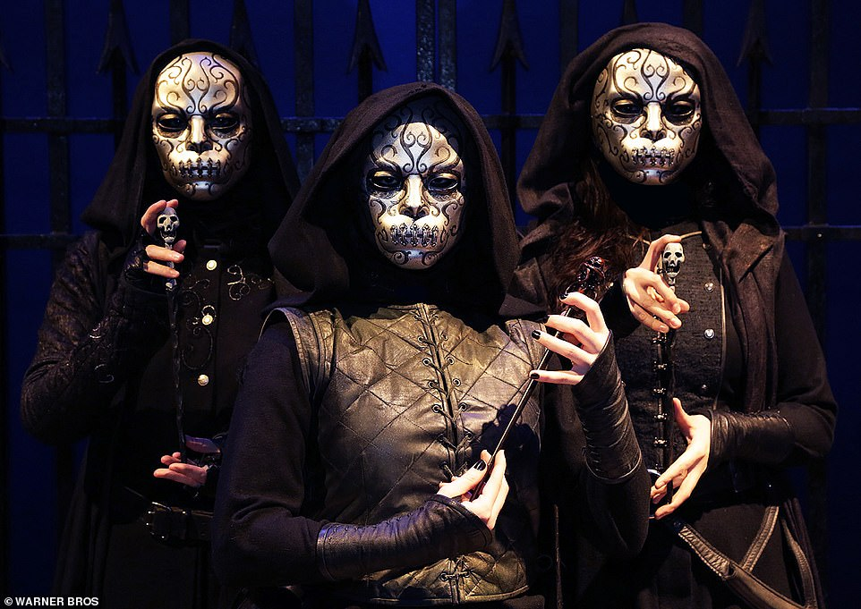 Death Eaterswill patrol the Great Hall as diners eat and later they will be guided to the Forbidden Forest