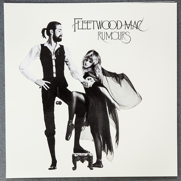 Dark daze: Ironically, some of the darkest days of Nicks' life came at the height of Fleetwood Mac's fame in the 1970s, following the massive success of their album Rumours (1977)