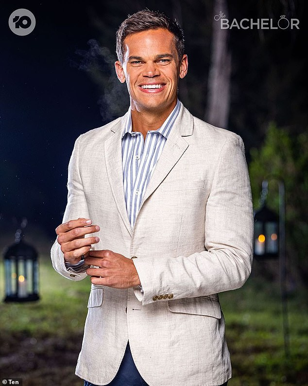 On the chopping block? A well-placed insider told Daily Mail Australia the future of The Bachelor hangs in the balance.The series will 'inevitably' be cancelled, they said, if Brooke Blurton's season of The Bachelorette doesn't see a ratings boost. Pictured is Jimmy