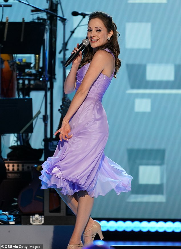 Her take: Osnes took to Instagram Monday to clarify she 'withdrew' - and was not 'fired' - from the one-night production of Crazy For You in East Hampton, New York because she hasn't had the COVID-19 vaccine