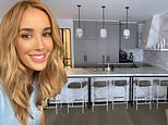 Rebecca Judd gives a glimpse inside the living and dining space of her ski chalet in Mount Buller