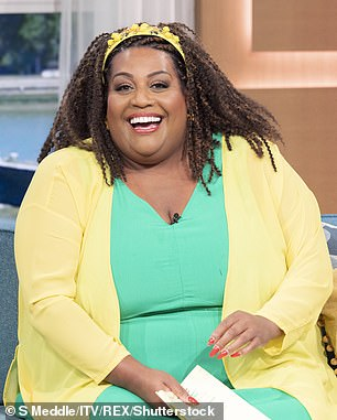 Delighted: Fellow This Morning host Alison Hammond was also recognised in the shortlist, ahead of the ceremony next month (pictured in 2021)