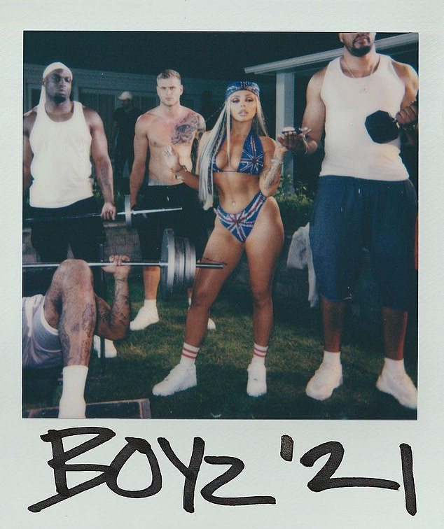New era: After leaving Little Mix, Jesy accepted a solo record deal with Polydor Records and her debut single Boyz will be released in early September