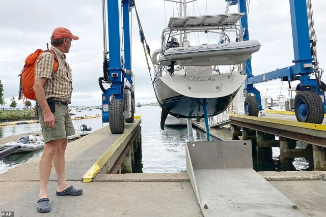 Henri's track has been imprecise, leading New Englanders to brace for their first possible hurricane in 30 years earlier on Friday
