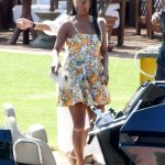 Gabrielle Union dons a floral-printed dress while boating with her family during Italian getaway💥👩💥💥👩💥