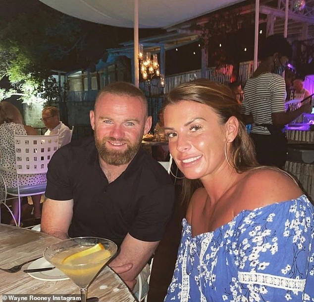 On hold:Her outing comes amid claims plans to release a biopic of Wayne Rooney celebrating his life and sporting career have reportedly been put on hold