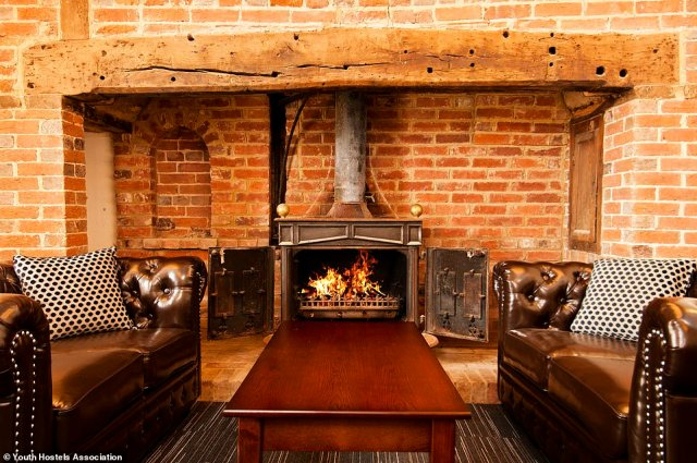 Parts of YHA South Downs date back to the 13th century, though the rooms are modern