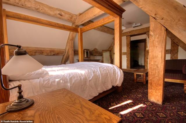 Esther describes YHA Wilderhope Manor, where rooms start from £29, as 'one of the UK's grandest hostels'