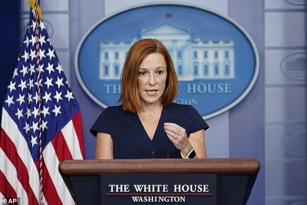 White House Press Secretary Jen Psaki pushed back on Tuesday on the criticism over her claim that Americans are 'not stranded' in Afghanistan