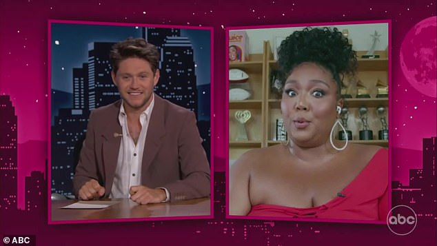 Compatibility test:'Wait a minute, who got more money? I want some of that One Direction money! You know what, no, I trust you. We wouldn't have to sign a prenup,' Lizzo said when asked if she'd get a prenup with Niall