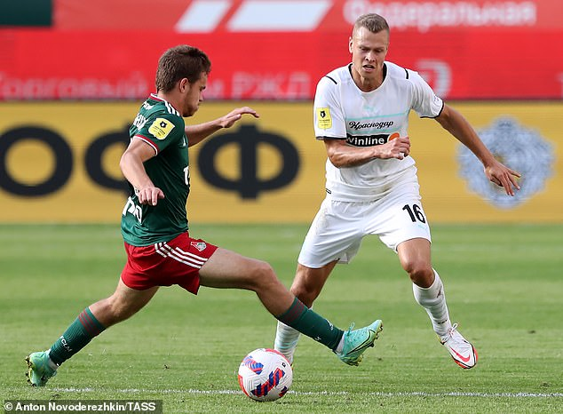 Claesson has spent the last four and a half years with Krasnodar in the Russian top flight
