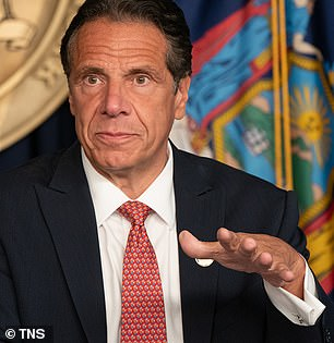 Victorious: Back in 2018, the Sex And The City star, 55, challenged Cuomo, 63, for Governor of New York but lost in the Democratic primary