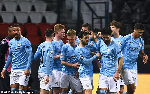 Manchester City have netted 108 cup goals since Crystal Palace last managed to score one