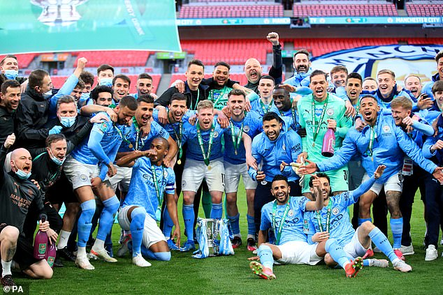 City meanwhile have scored 26 goals in EFL Cup matches, winning back-to-back titles