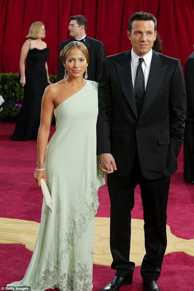 Their salad days: The Justice League star has been romancing Jennifer, 52, since May this year, after they rekindled their romance following two years together between 2002 and 2004