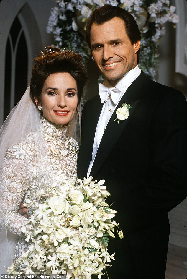 The husband role: He joined All My Children in 1991. He played Susan Lucci's handsome husband named Marick