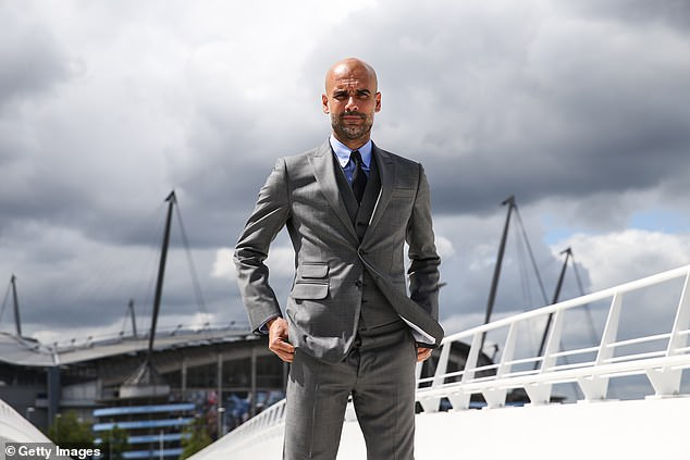 Guardiola joined the Premier League champions in 2016 and is planning to leave in 2023