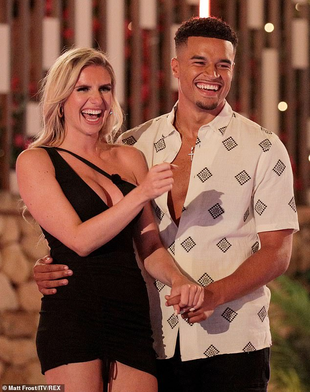 'I've got tunnel vision now':Love Island's Toby Aromolaran has declared he will remain firmly loyal to Chloe - despite his lothario antics on the show - as the blonde beauty revealed she wants to get married 'imminently' at the main villa