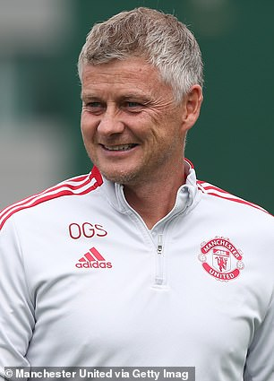Solskjaer is bidding to close the gap on City
