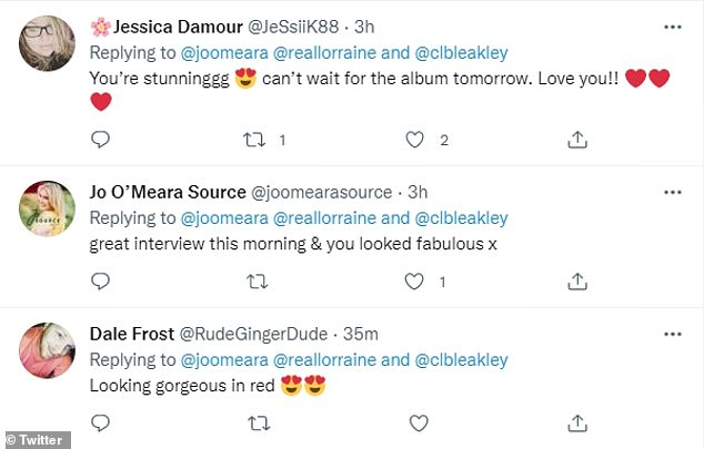 Shocked: Many took to social media to share their reactions to Jo's return with her new album