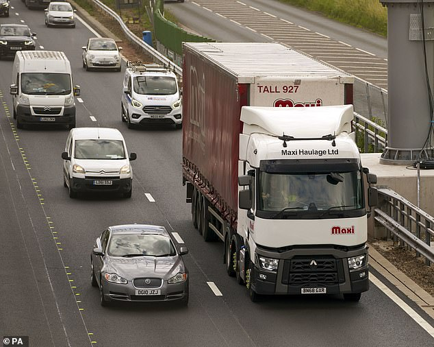 The Government could announce plans to shake-up HGV tests for drivers in a bid to address the supply crisis which has seen supermarkets struggle to stock shelves with certain products