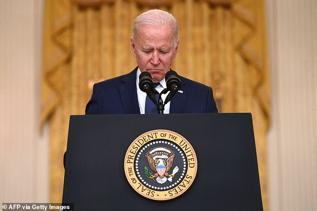MPs have slammed Joe Biden's handling of the withdrawal from Afghanistan as they told the US President: 'This is what defeat looks like.'