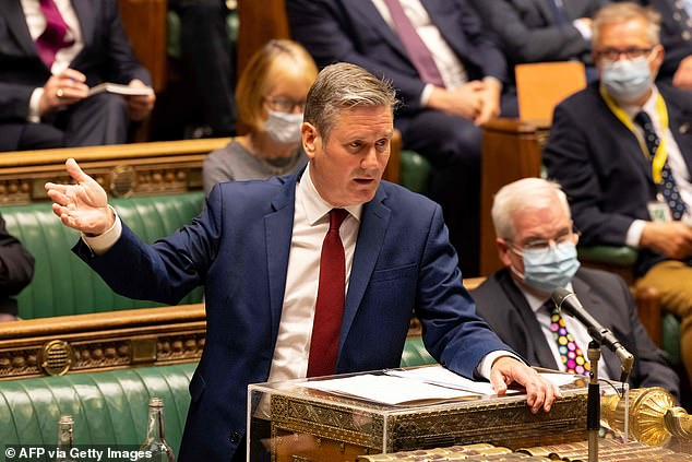 Sir Keir Starmer, the Labour leader, said the British Government has 'serious questions to answer' about why so many Afghan citizens who are eligible to come to the UK have been left behind in Kabul