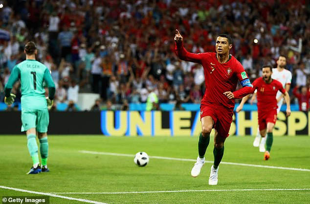 David De Gea will be glad that Ronaldo is on his team now after a tough experience in 2018