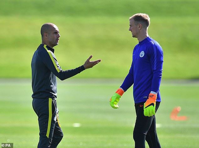 According to Hart his name was soured by Pep Guardiola's decision to not play him regularly