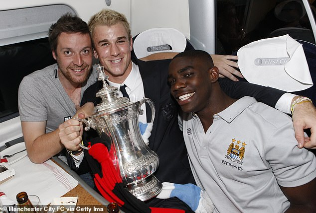The pair enjoyed success together at City, which included winning the FA Cup in 2011