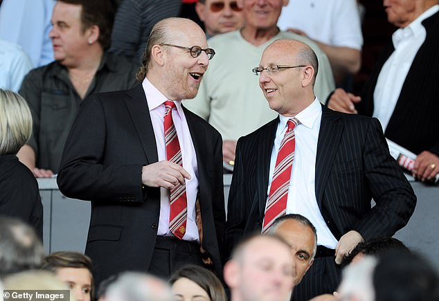 United Co-Chairmen Avram Glazer (L) and Joel Glazer (R) will hope that bringing Ronaldo back will increase their global appeal even further