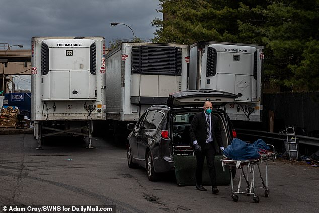 The Central Florida Disaster Medical Coalition said each hospital system will be sent different amounts of portable morgues depending on the size of the facility