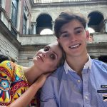 Lady Kitty Spencer posts sweet snap with brother Samuel Aitken, 18, as they dine together in Milan💥👩💥💥👩💥