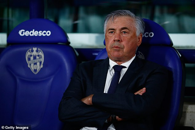 The striker is not even among Carlo Ancelotti's first choice substitutes for the coming season
