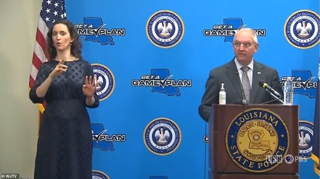 'Now is the time to finish your preparation,' Louisiana Governor John Bel Edwards told a news conference on Friday. 'By nightfall tomorrow night, you need to be where you intend to ride out the storm'