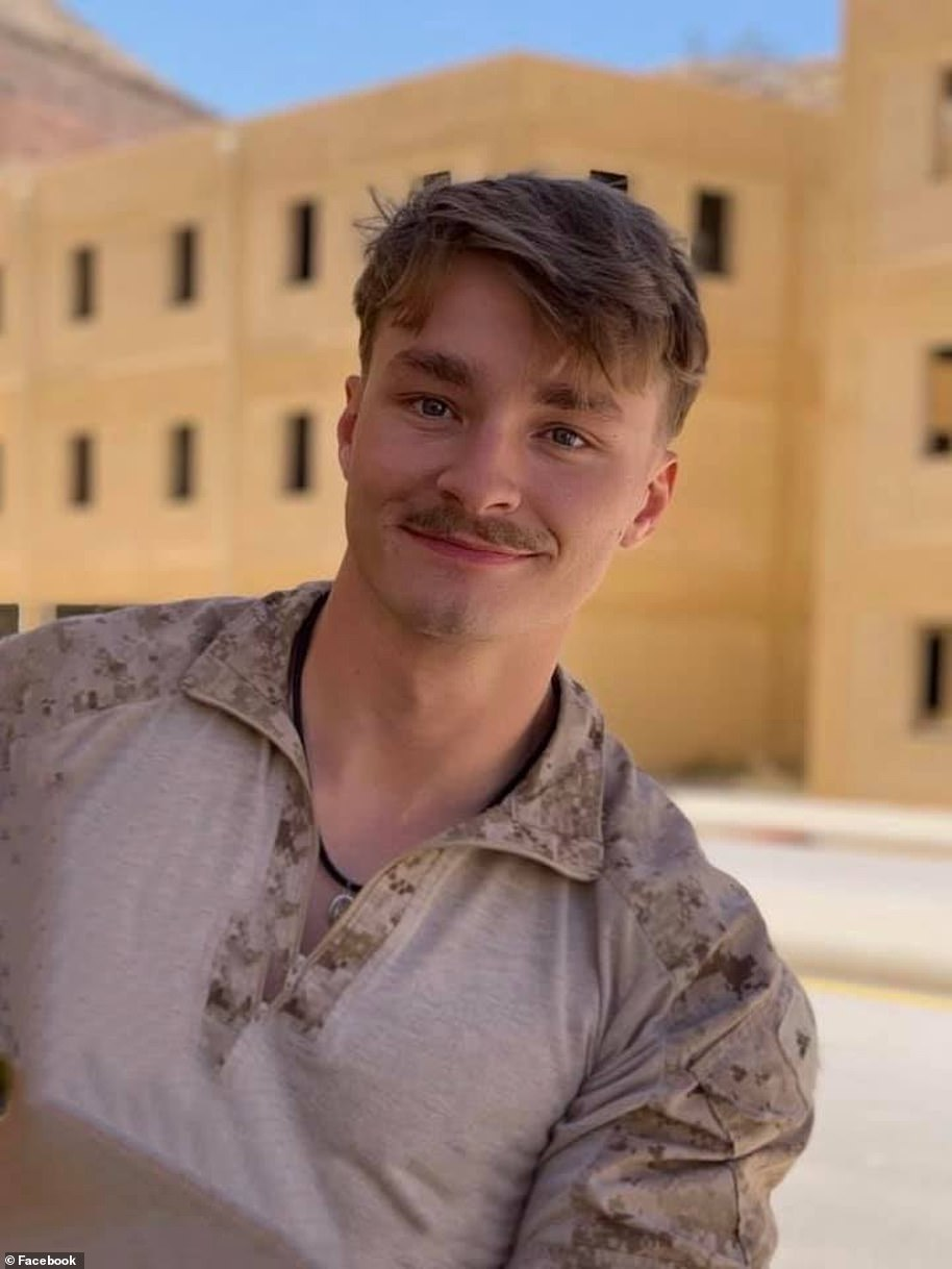 Corp. Daegan William-Tyeler Page died in the Kabul airport bombing attack